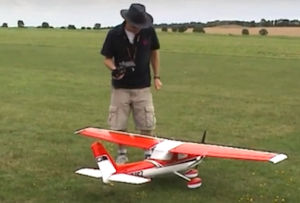 fixed wing A test demo