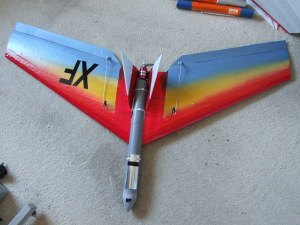X-fighter  Powered EPP Wing